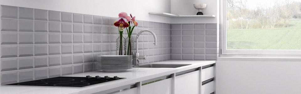 Ceramiche ce si carbonari il bagno e poi - Piastrelle diamantate cucina ...