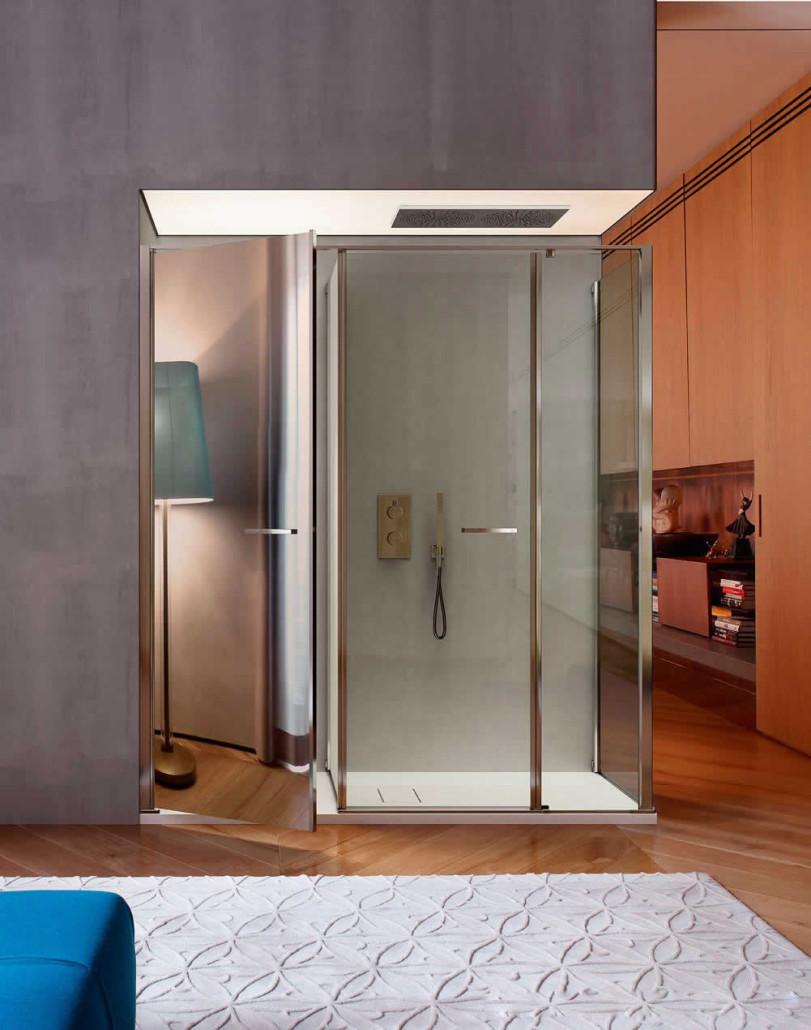 Box doccia vismaravetro carbonari il bagno e poi - Il box doccia ...